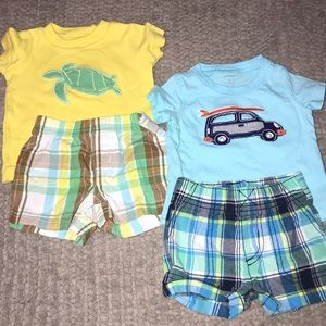 2 Carter's Outfit Bundle Sz 3M